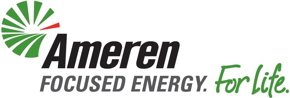 Ameren logo - Focused Energy. For Life.