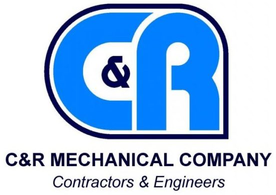 C and R Mechanical Company Logo. Contractors & Engineers