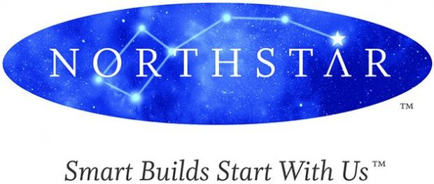 Northstar Logo. Smart Builds Start With Us