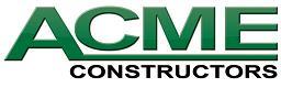 Acme Constructors Logo