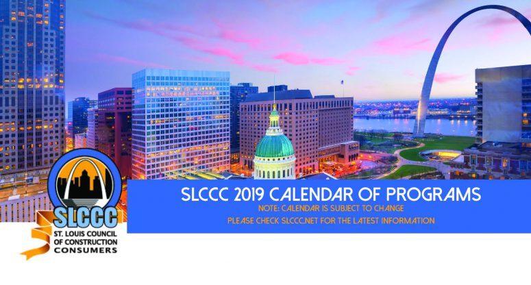 SLCCC 2019 Calendar of Events