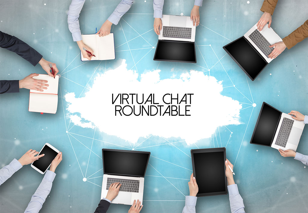 Virtual chat roundtable