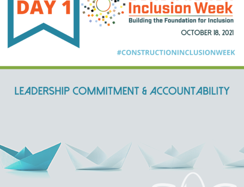 Construction Inclusion Week – Day 1